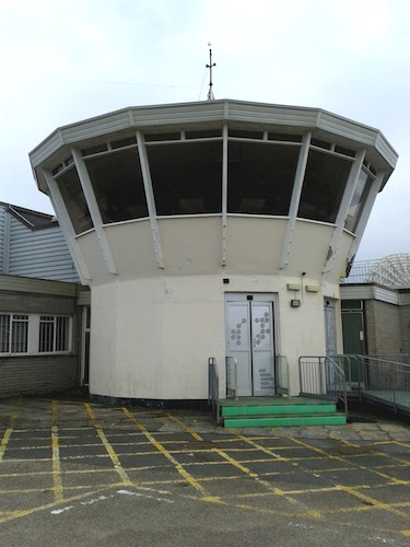 former control tower GES