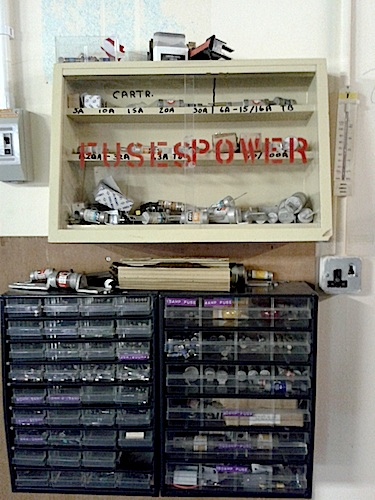 fuses power GES